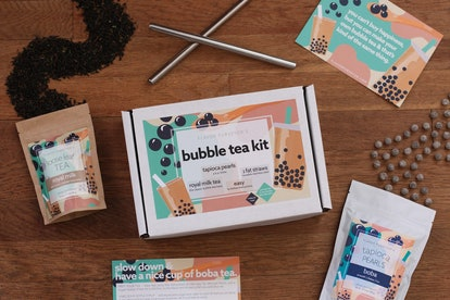 Bubble Tea Kit DIY Boba Tapioca Pearls