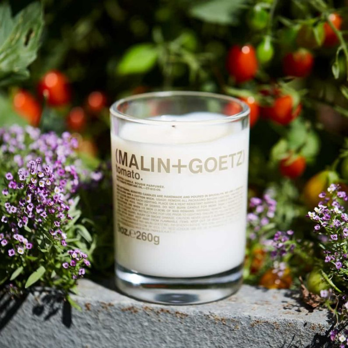 MALIN+GOETZ's Tomato Candle is an unexpected but welcome summer scent