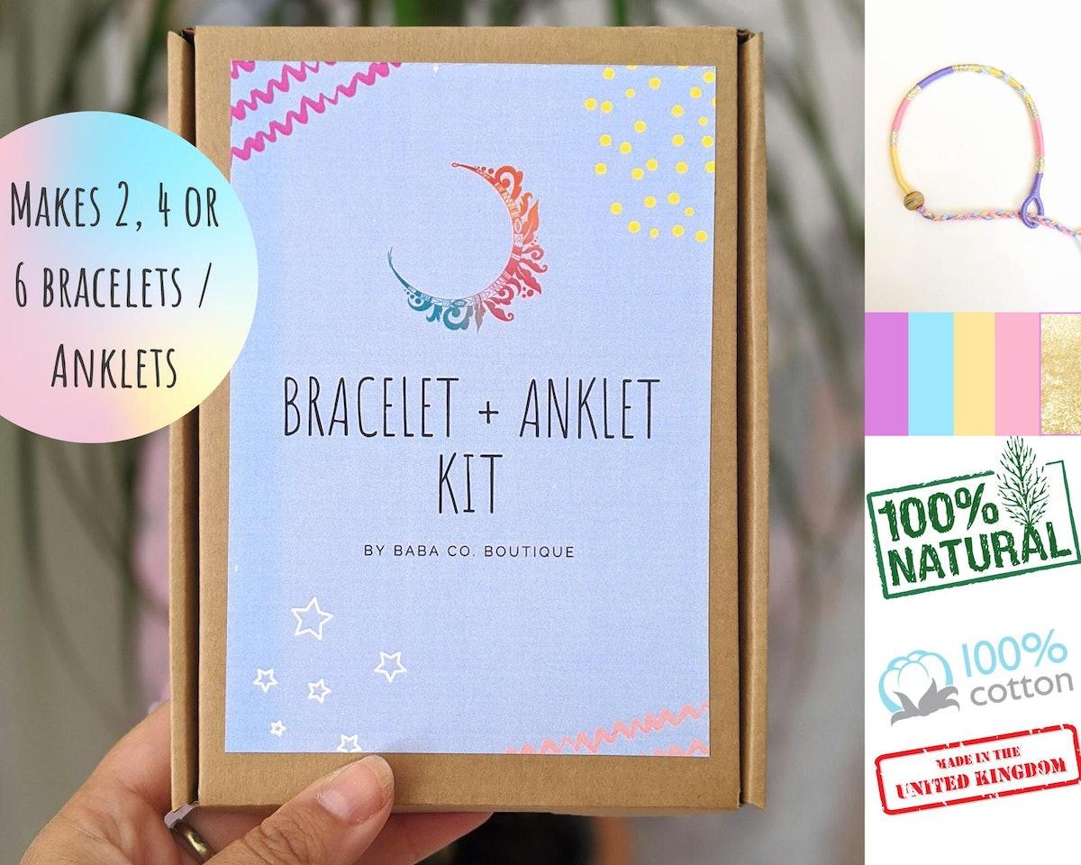Kiasah Friendship Wish Bracelet / Anklet Kit