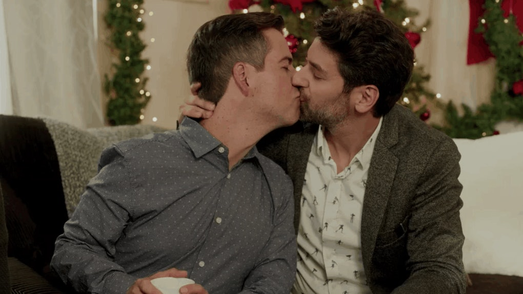 Lifetime's 'The Christmas Set Up' will be the network's first movie centered on an LGBTQ+ romance.