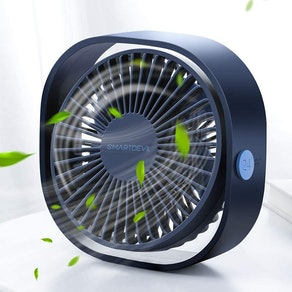 SmartDevil Small Personal USB Desk Fan