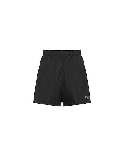 Nylon Gabardine Shorts