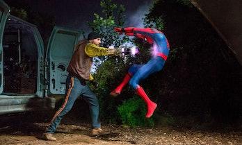 spider-man homecoming shocker punch
