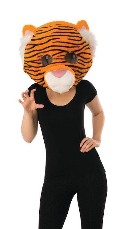 Rubie's Plush Tiger Mascot Head Halloween Accessory