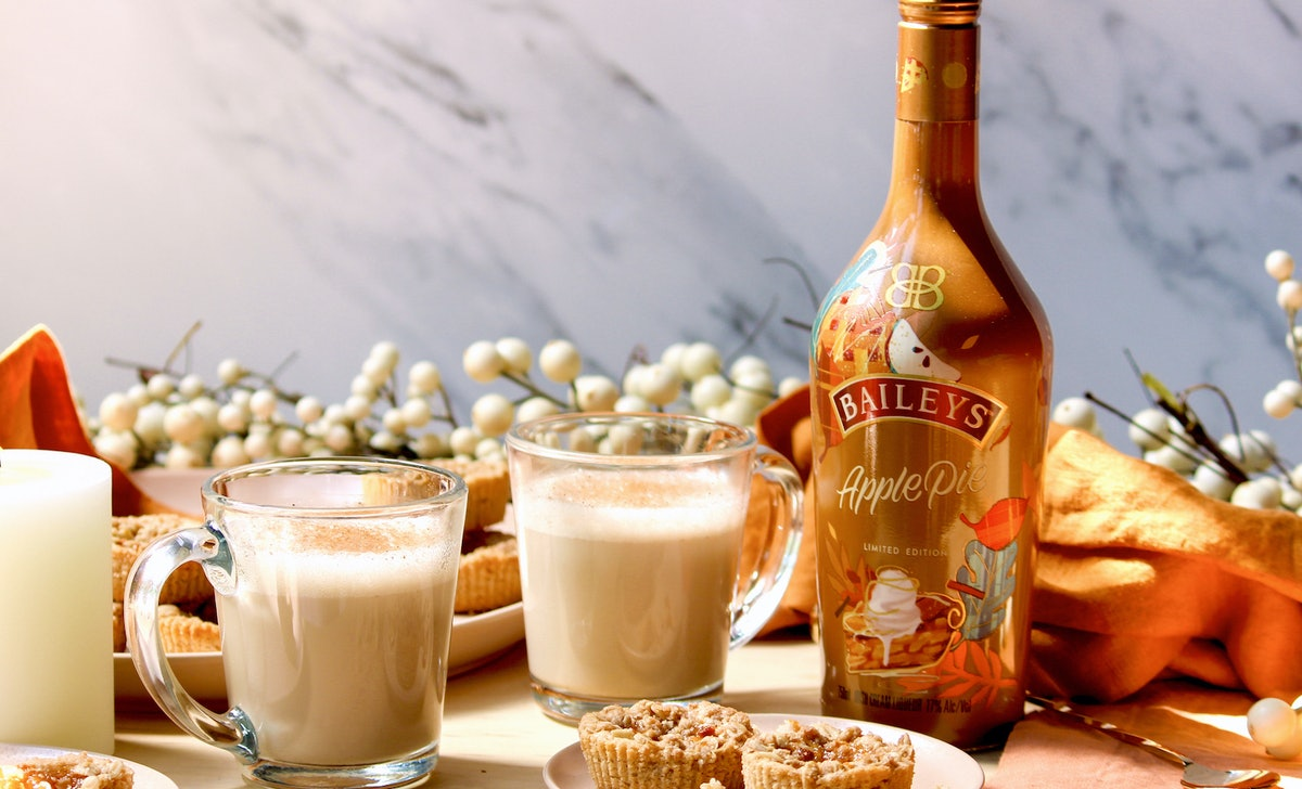 Baileys' new apple pie flavor is available for a limited time.
