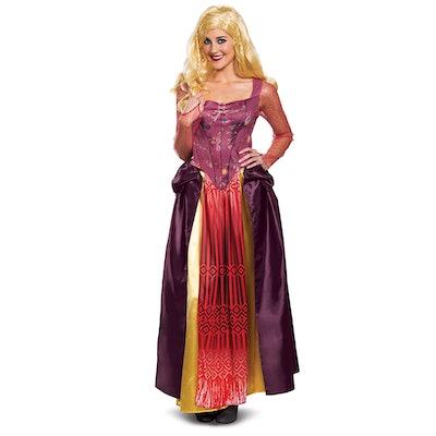 Disguise Disney's Hocus Pocus Adult Deluxe Sarah Halloween Costume Exclusive