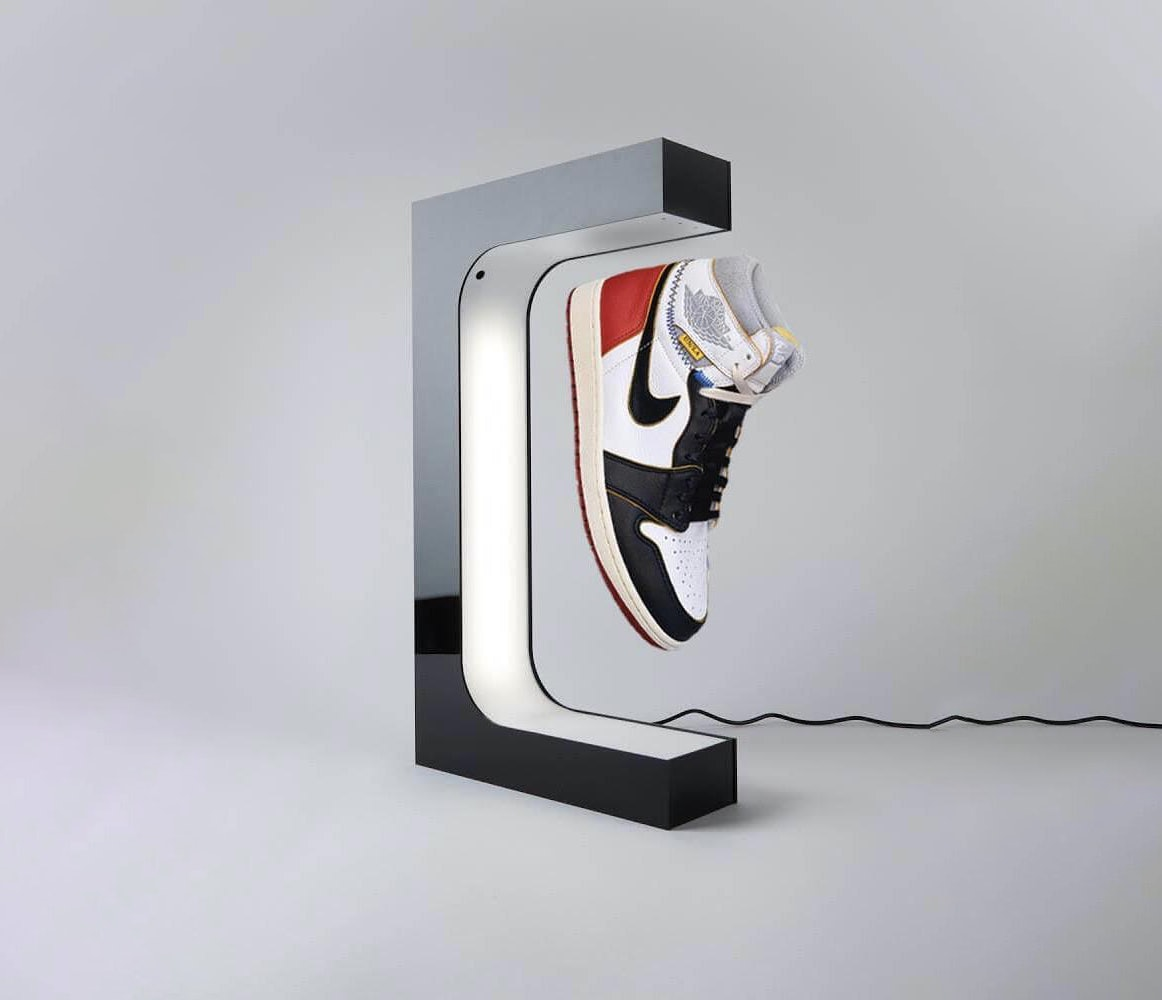 $250 stand that makes my sneakers levitate
