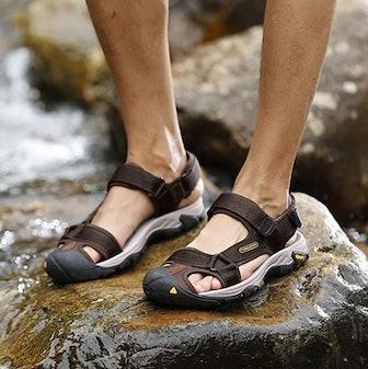 CAMEL CROWN Men's Waterproof Hiking Sandals