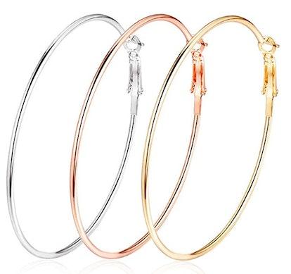 Cocadant Hoop Earrings (3-Pack)