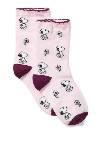 Peanuts Snoopy Sock