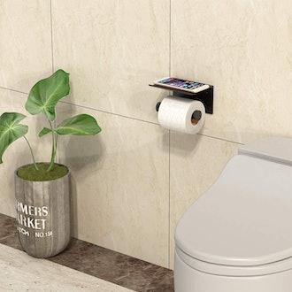 Vdomus Toilet Paper Holder with Shelf