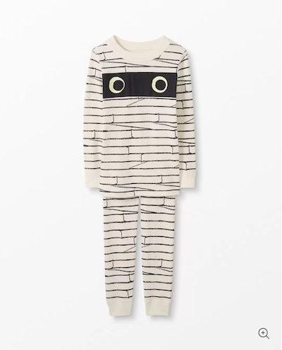 Mummy Long John Pajamas In Organic Cotton