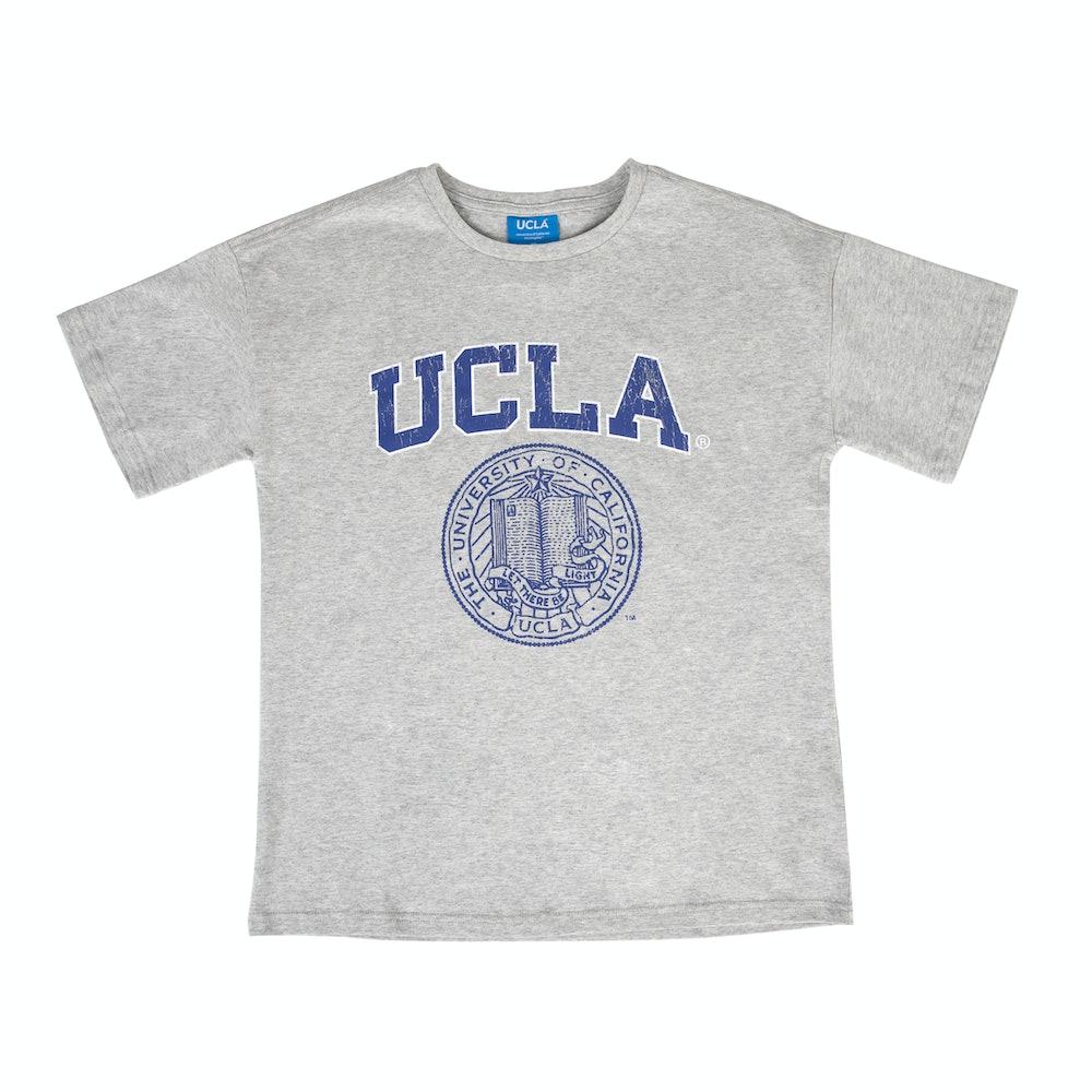 UCLA VINTAGE PUFF TEE GREY