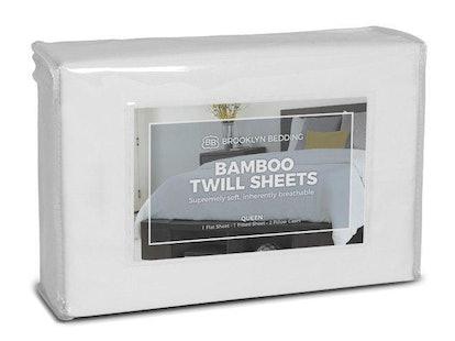 Bamboo Twill Sheets