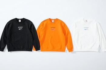 Supreme Nike Crewneck Sweatshirt