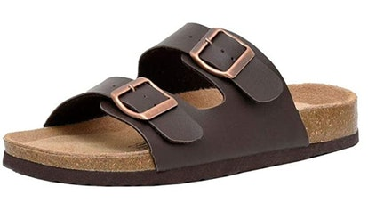 CUSHIONAIRE Cork Sandal