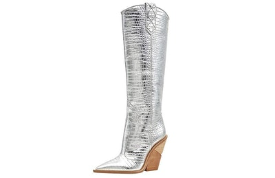 The Most Crocodile Knee High Cowboy Boots
