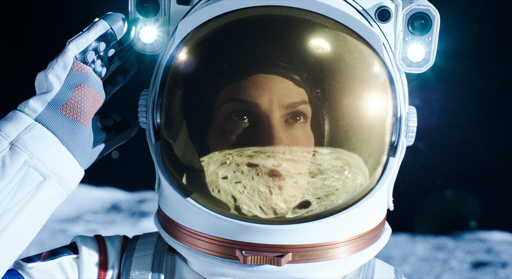 Hilary Swank in 'Away' on Netflix