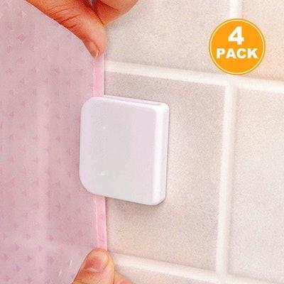 EONMIR Shower Curtain Clip (4-Pack)