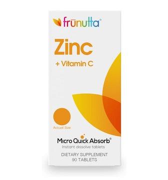 Frunutta Zinc 5 mg + Vitamin C (90 Count)