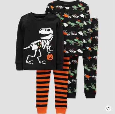 Toddler Boys' 4pc Halloween Pajama Set