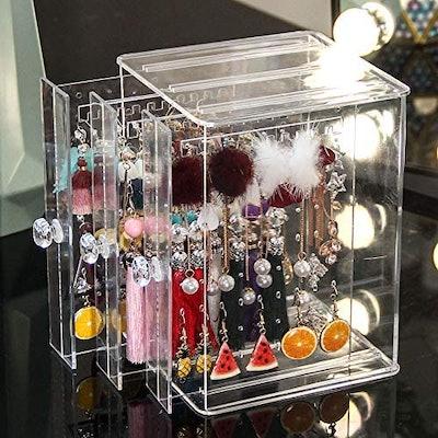 Sooyee Vertical Drawer Earring Display