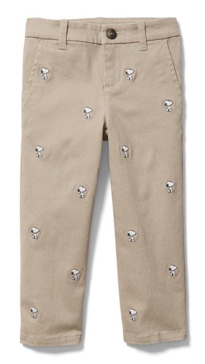 Peanuts Snoopy Straight Pant
