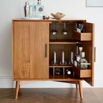 Mid-Century Bar Cabinet