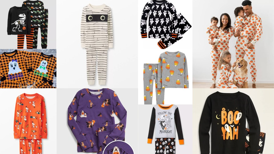 Halloween pajamas can help you celebrate spooky season in style.