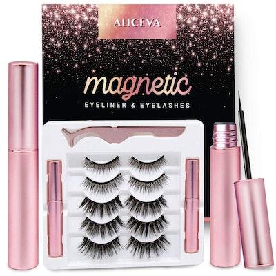 Aliceva Magnetic Eyeliner and Eyelashes Kit