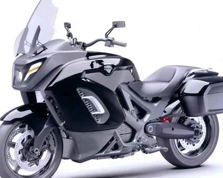 The Aurus Escort is Vladimir Putin's new electric motorcycle.