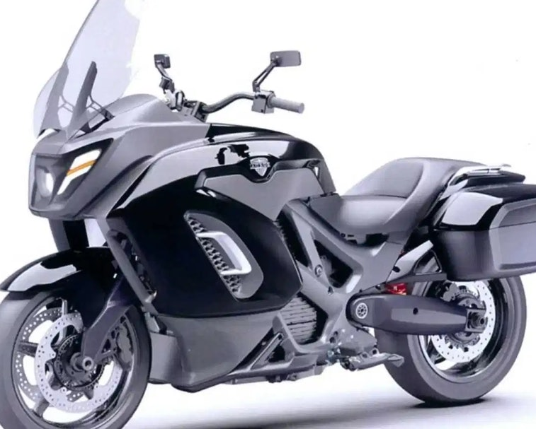 The Aurus Escort is Vladimir Putin's new electric motorcycle.