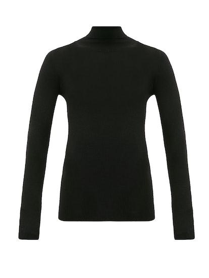 Karen oll-neck merino-wool sweater