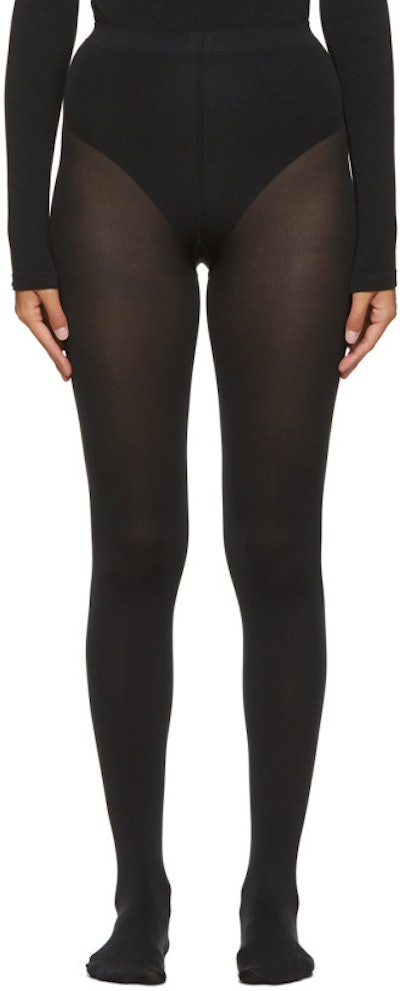 Black Mat Opaque 80 Tights