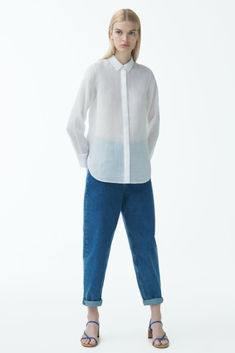 Sheer Ramie Shirt