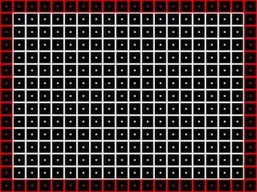Grid TV pattern.