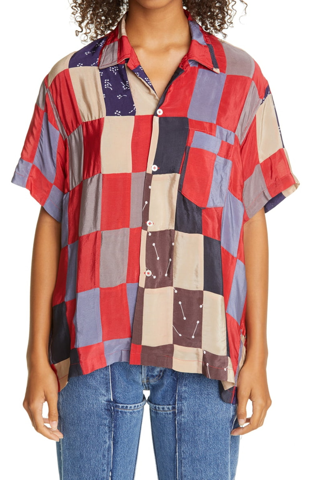 Chandigarh Quilt Bowling Shirt