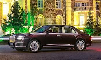 The Aurus Senat, aka Putin's armored limo.
