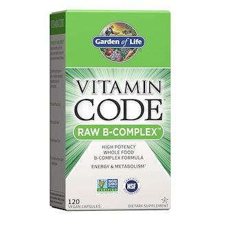 Garden of Life Vitamin Code Raw B-Complex (120 Count)
