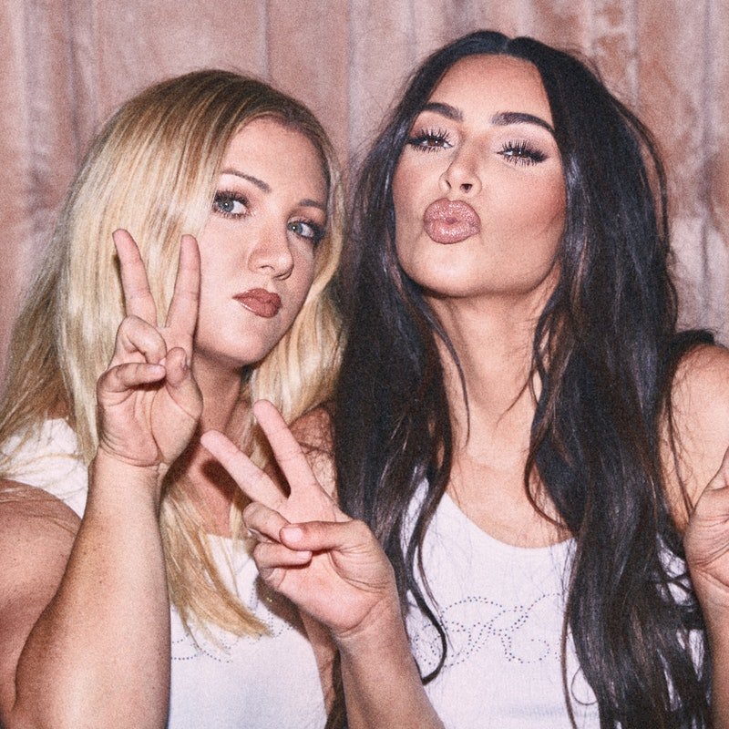 Kim Kardashian and her childhood best friend dreamed up a new line together for KKW Beauty.