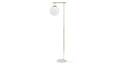Pendula Gold Floor Lamp