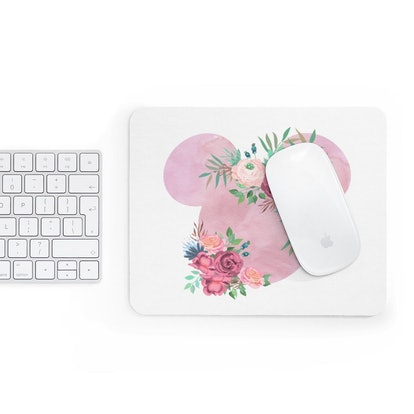 Pink Watercolor Mousepad
