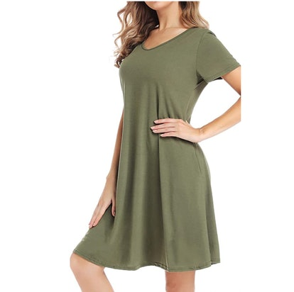 CakCton T-Shirt Dress
