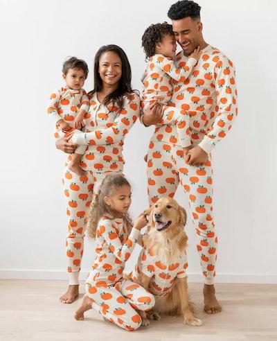 Long John Pajamas In Organic Cotton — Jack O'Lanterns