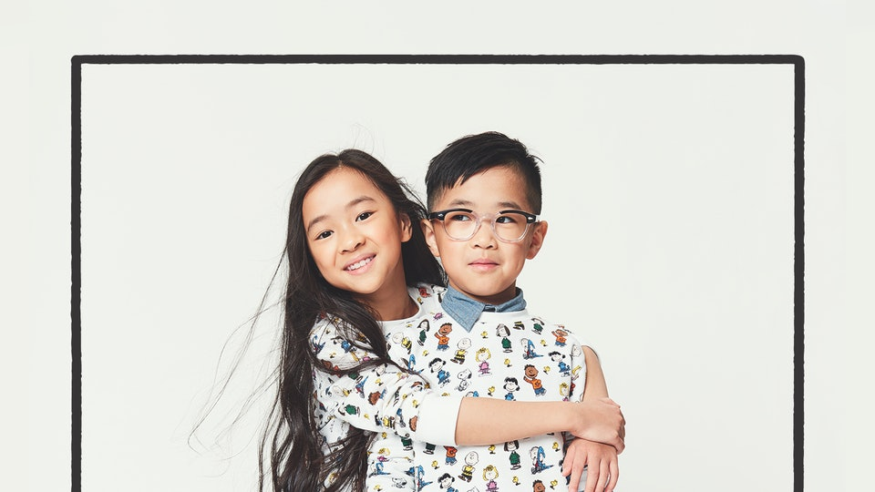The new Janie and Jack Peanuts Capsule Collection is filled with Snoopy and Woodstock gear to outfit kids from head to toe.