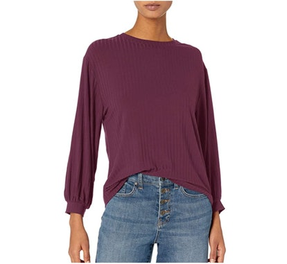 Daily Ritual Long Sleeve Knit Top