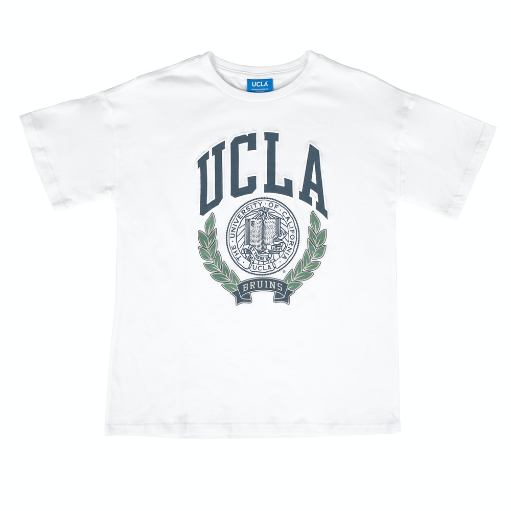 UCLA VINTAGE PUFF TEE WHITE