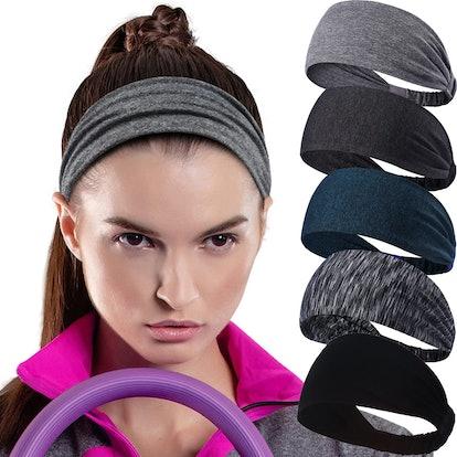 Calbeing Workout Headband (5-Pack)