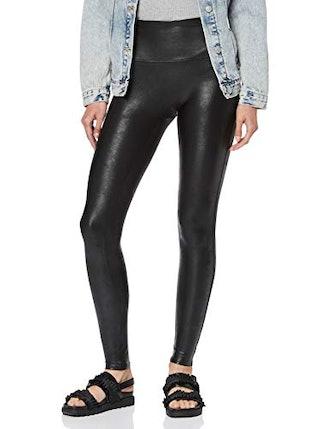 Spanx Ready-to-Wow! Faux Leather Leggings Black Pants