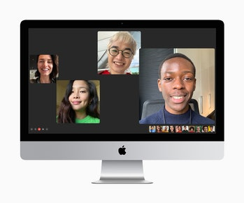FaceTime on the new iMac 27-inch.